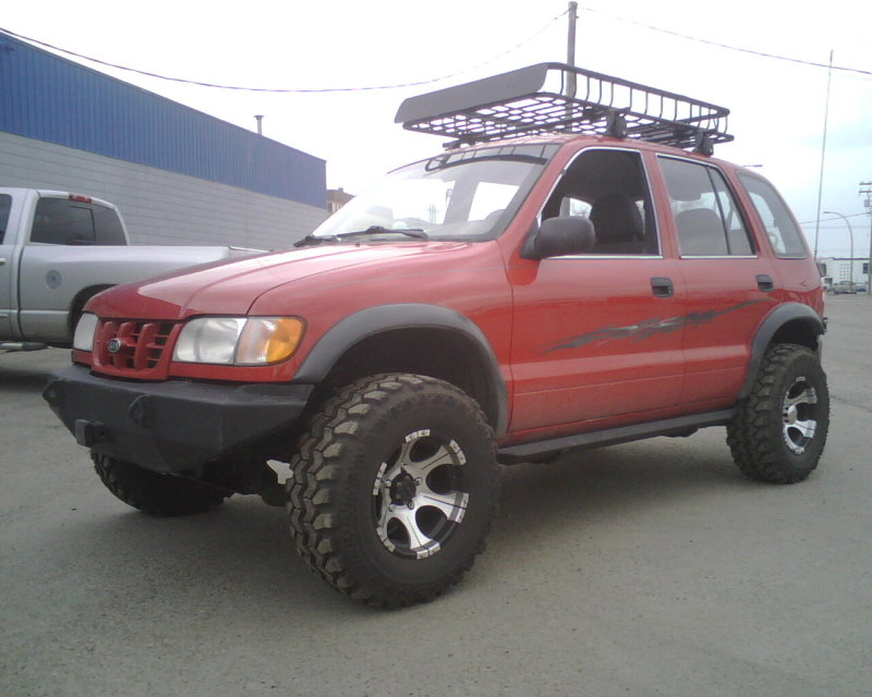 Kia Sportage 2000 Lifted | galleryhip.com - The Hippest Galleries!